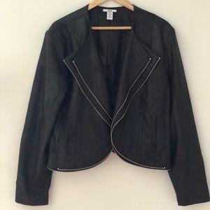 ☀️Jacket Sale☀️ Faux Suede Black Jacket Bar III